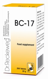 Dr Reckeweg BC-17 200 Tablets - BULK OFFER!
