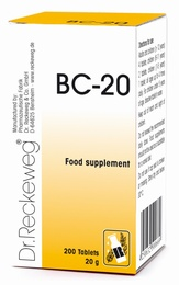 Dr Reckeweg BC-20 200 Tablets - BULK OFFER!