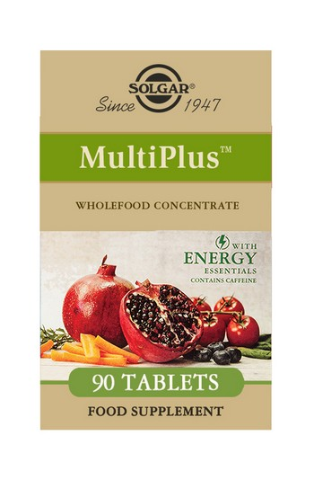 Solgar MultiPlus with Energy Essentials 90 Tablets