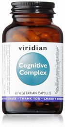Viridian Cognitive Complex 60 Vegetable Capsules