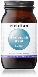 Viridian Hyaluronic Acid 50mg 90 Vegetable Capsules