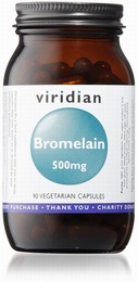 Viridian Bromelain 500mg 90 Vegetable Capsules
