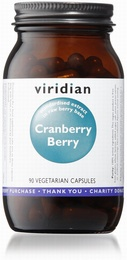 Viridian Cranberry Berry Extract 90 Vegetable Capsules