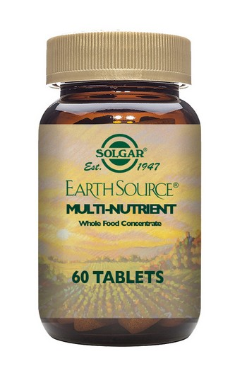 Solgar Earth Source Multi-Nutrient 60 Tablets